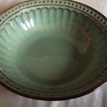 Antique Chinese celadon bowl - Asian
