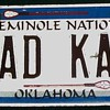 Seminole Nation Vanity Plate