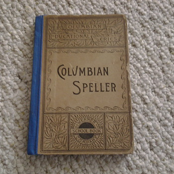 Columbian Speller book - Books