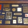 metal NAMEPLATES, from assorted things?! :-)