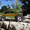 Unrestored 1972 Radio Flyer Fireball Wagon