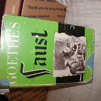 Is my version of Goethe's Faust Translated by Bertram Jessup a 1st Edition / 1st Printing? - Books