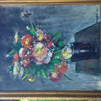 """Fritz B Talbot Art """" Still Life Flowers""""  - Visual Art"""