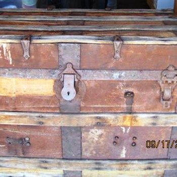 Antique Trunk #2 Continued - Furniture