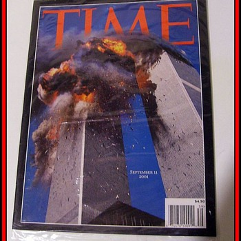 Time Magazine - September 11, 2001 ( Collectible Edition 9/11 ) - Paper
