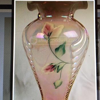 Pretty Pink Unknown Fenton - Art Glass
