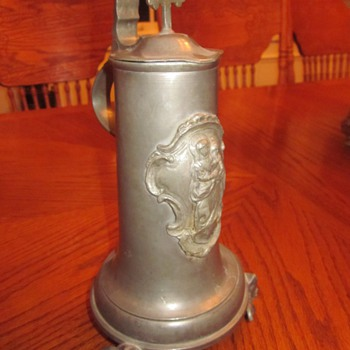 Old Pewter Stein circa 1870