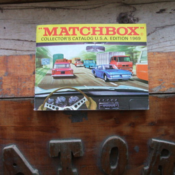 1969 Matchbox Catalog - Model Cars