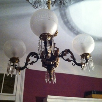 dining room gas fixture - Lamps