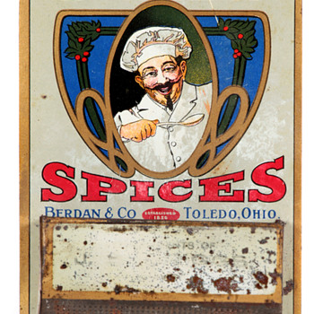 Chef Spices Berdan & Co. Toledo Match Holder