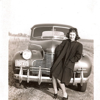 Moms and Their Cars - c.1941 and c.1943