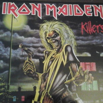 "Iron Maiden "" Killers"" - Records"