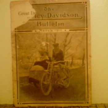 The Harley Davidson Bulletin March 1914