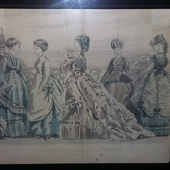 1869 peterson ladies magazine fold outs - Visual Art