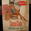  Coca-Cola Cardboard Signs