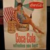 Coca-Cola Cardboard Signs
