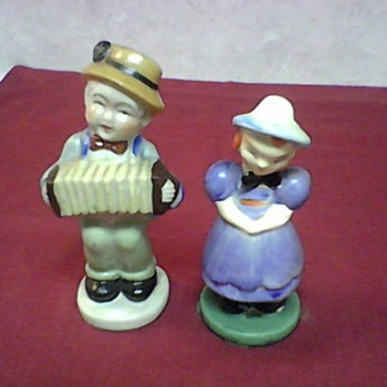 VINTAGE OCCUPIED JAPAN FIGURINES - Art Pottery