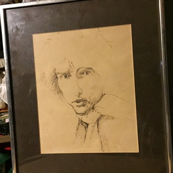 Bob Dylan  sketch  - Visual Art