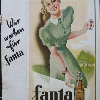 Fanta in the Coca-Cola news 1940 - Coca-Cola