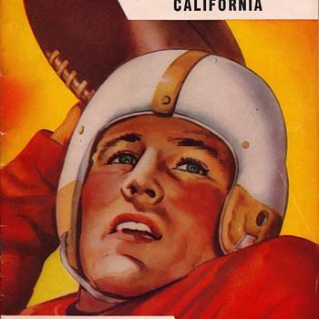 Vintage Football Programs - Football