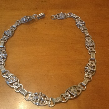 Older Necklace - 800 Silver - Antique?