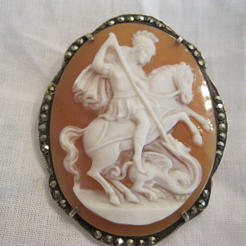 Cameo St. George and the Dragon