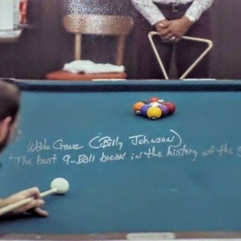 Wade Crane former World 8-Ball and 9-Ball champion - signed