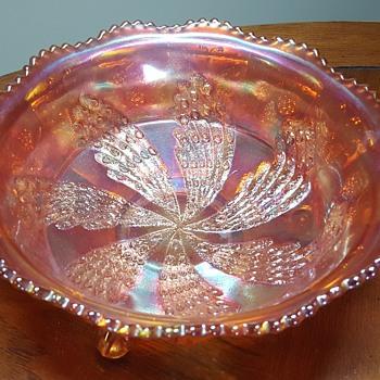 Carnival Glass Bowl - Glassware