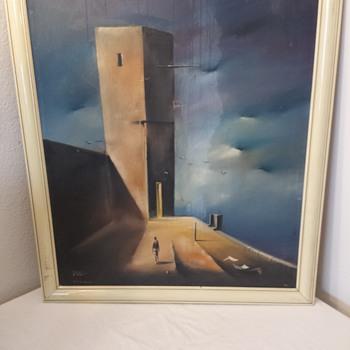 Eugene Hawkins Original Oils on Canvas - Visual Art