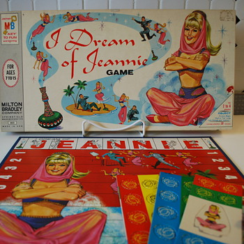 I Dream of Jeannie Board Game by Milton Bradley - Games