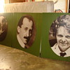 Vintage Photographs of Famous People on 4ft. Panels