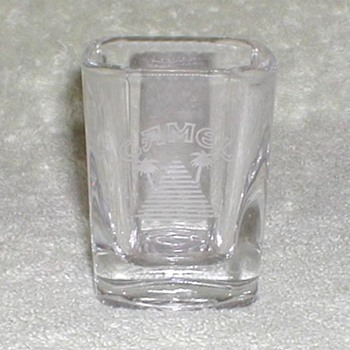Camel Cigarettes Shot Glass - Glassware