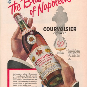 1950 Courvoisier Advertisement - Advertising