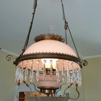 My old light fixture - Lamps
