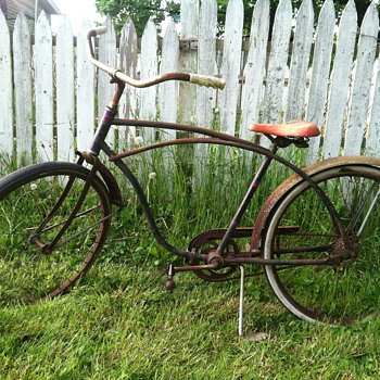 Help me! Unknown maker.. Reclaimed vintage bicycle. - Sporting Goods
