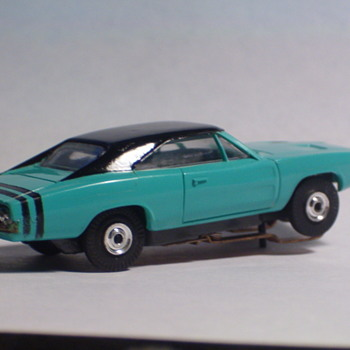 AURORA T-JET DODGE CHARGER TURQUISE