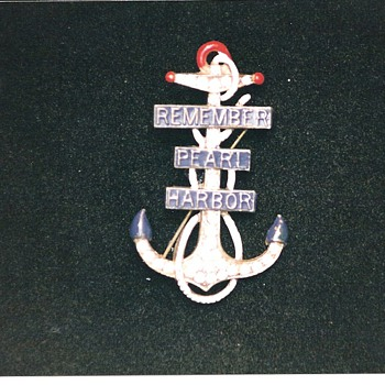 More Remember Pearl Harbor Pins and Broohes