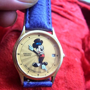 1990 Seiko Hollywood Mickey - Wristwatches