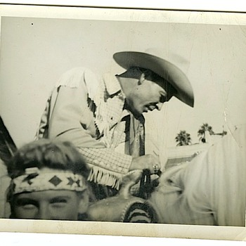 Roy Rogers, Dale Evans, Bob Nolan & The Sons Of The Pioneers + Unidentified Indians - Photographs