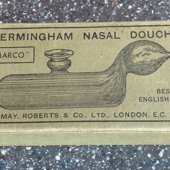 'Emarco' nasal douch - Advertising