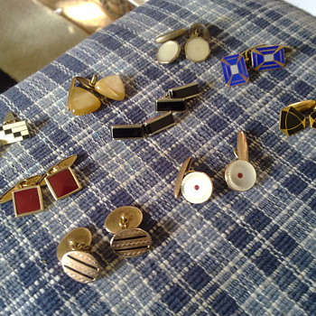 ART DECO CUFFLINKS - Accessories