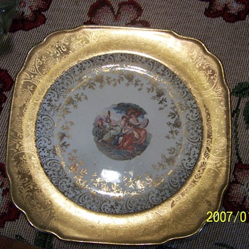 atlas china  cir 1930 22 karat gold - China and Dinnerware