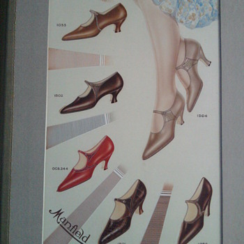 mansfield shoes hand painted catalogue