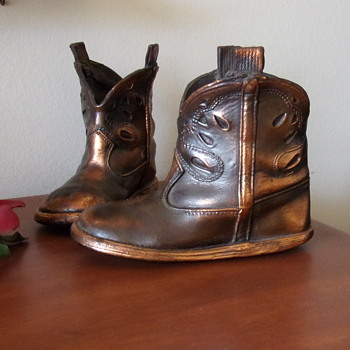 Bronze Cowboy Boots 1959 - Shoes