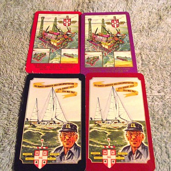 1967/1974-playing cards-'double swipe'. - Games