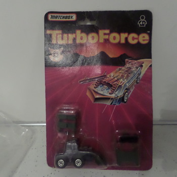 Matchbox turbo force - Model Cars