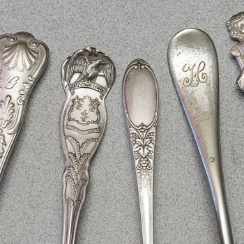 Spoon collection not Sterling, put old - Kitchen