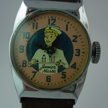 1956 Junior Nurse Wristwatch - Wristwatches