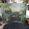 "Beautiful 1946 Painting ""Wilma Bland"""