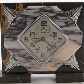 Wonderful ART DECO French clocks by Dep - Clocks